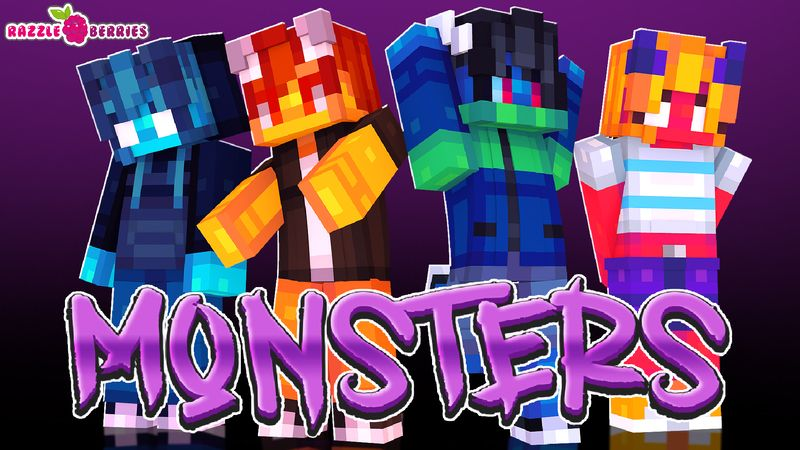 Monsters on the Minecraft Marketplace by Razzleberries