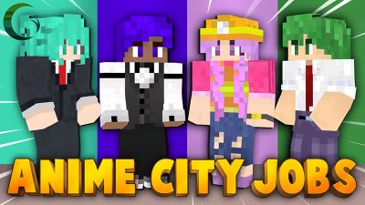 Anime City Jobs on the Minecraft Marketplace by Cynosia