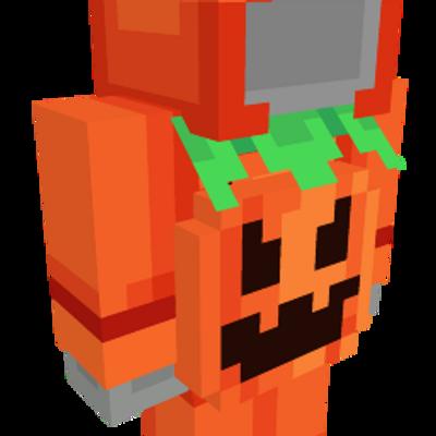 Pumpkin Onesie on the Minecraft Marketplace by Spectral Studios