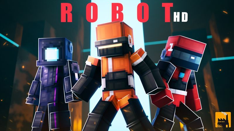 Robot HD on the Minecraft Marketplace by Block Factory