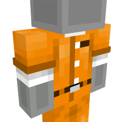 Prisoner Costume on the Minecraft Marketplace by CubeCraft Games
