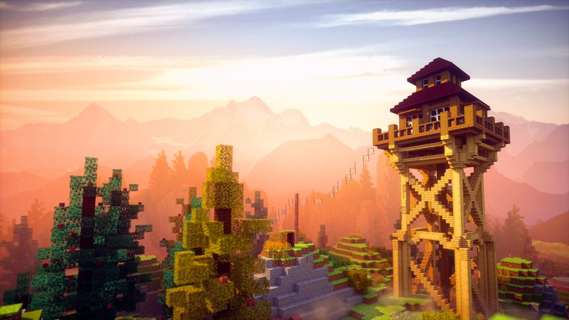 FIRE LOOKOUT BASE on the Minecraft Marketplace by Chunklabs