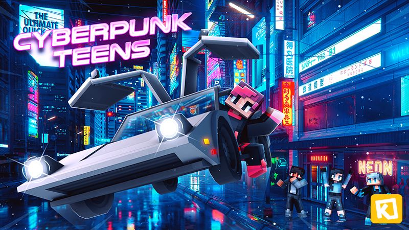 Cyberpunk Teens on the Minecraft Marketplace by Kuboc Studios