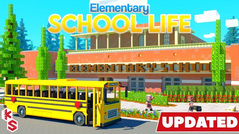Elementary School Life on the Minecraft Marketplace by Kreatik Studios