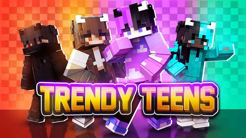 Trendy Teens on the Minecraft Marketplace by Blu Shutter Bug