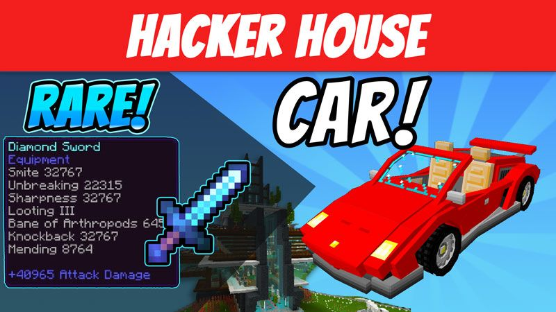 Hacker House on the Minecraft Marketplace by VoxelBlocks