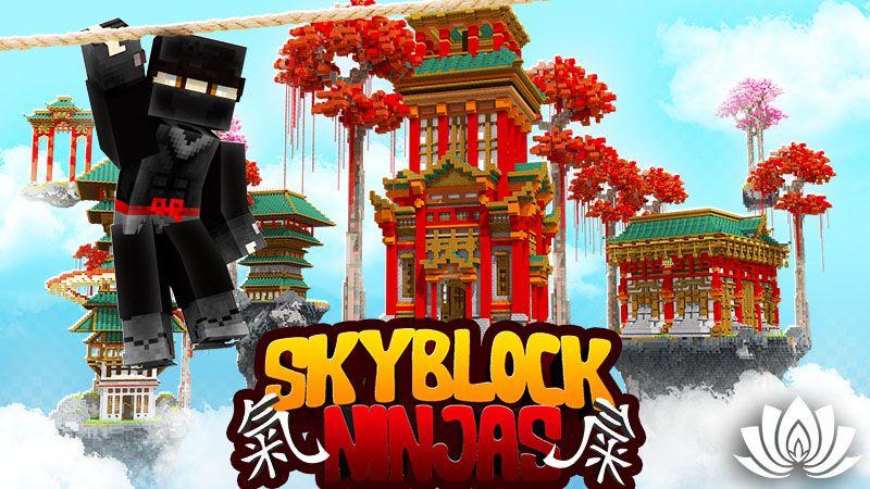 Skyblock Ninjas on the Minecraft Marketplace by IriumBT
