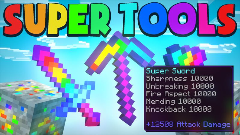 SUPER TOOLS on the Minecraft Marketplace by Chunklabs