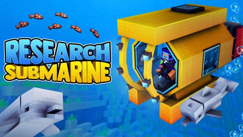 Research Submarine on the Minecraft Marketplace by 57Digital