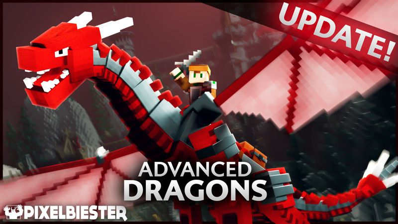 Advanced Dragons on the Minecraft Marketplace by Pixelbiester