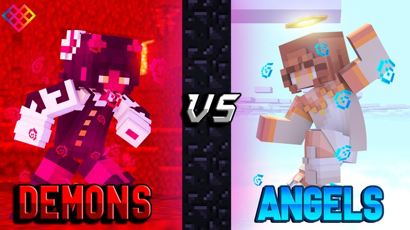 Demons vs Angels on the Minecraft Marketplace by Rainbow Theory
