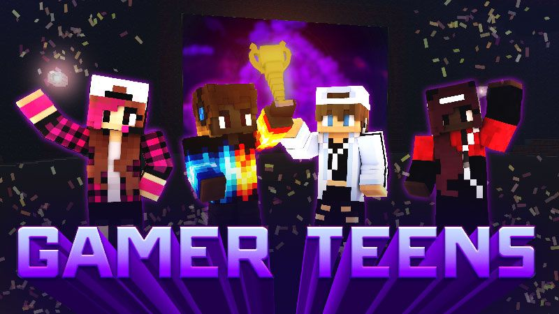 Gamer Teens on the Minecraft Marketplace by Impulse
