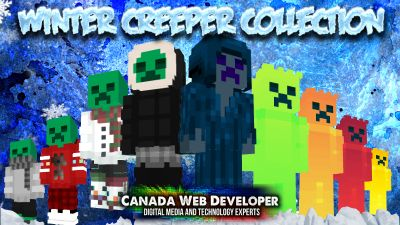 Winter Creeper Collection on the Minecraft Marketplace by CanadaWebDeveloper