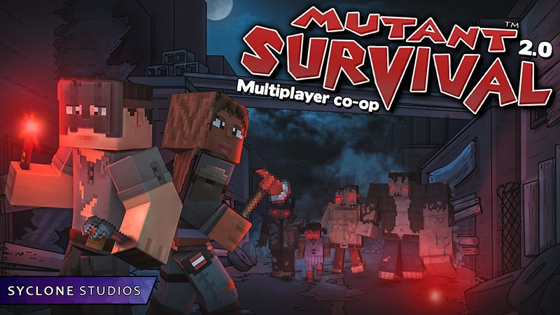 Mutant Survival on the Minecraft Marketplace by Syclone Studios