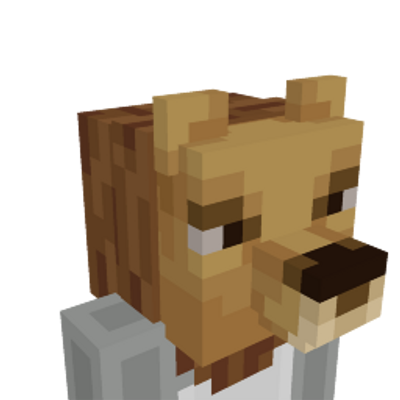 Lion Head on the Minecraft Marketplace by Mine-North