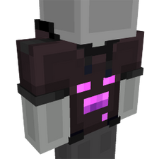 Enderman Hoodie on the Minecraft Marketplace by Glowfischdesigns