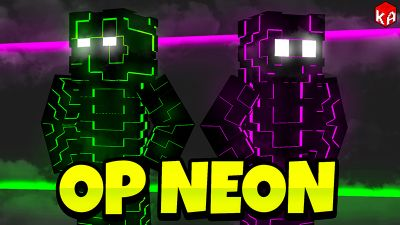 OP Neon on the Minecraft Marketplace by KA Studios