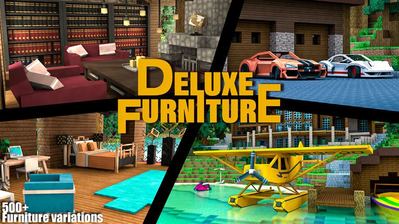 Deluxe Furniture Lakeside on the Minecraft Marketplace by Blockception
