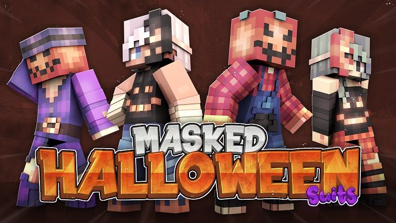 Masked Halloween Suits on the Minecraft Marketplace by Cypress Games