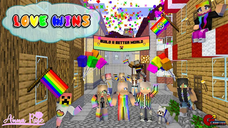 Love Wins on the Minecraft Marketplace by G2Crafted