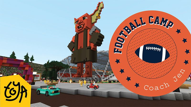 Football Camp on the Minecraft Marketplace by Toya
