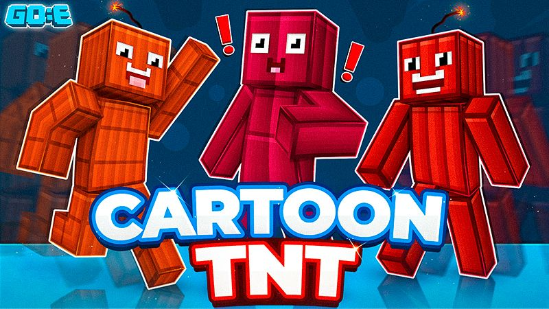 Cartoon TNT on the Minecraft Marketplace by GoE-Craft
