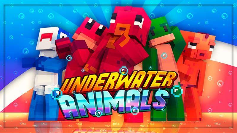 Underwater Animals on the Minecraft Marketplace by Mine-North