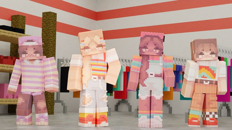Thrift Store Fashion on the Minecraft Marketplace by CubeCraft Games