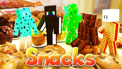 Snacks on the Minecraft Marketplace by Shaliquinn's Schematics