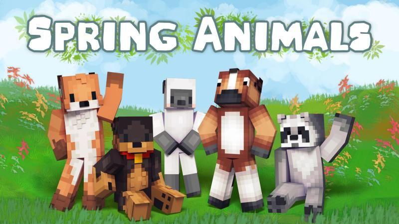 Spring Animals on the Minecraft Marketplace by Podcrash
