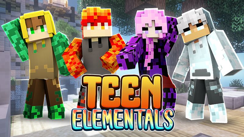 Teen Elementals on the Minecraft Marketplace by Sapphire Studios