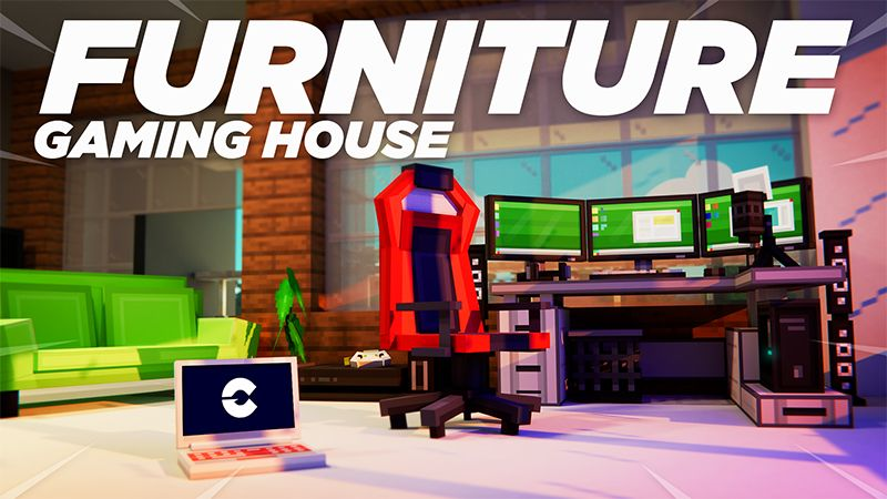 Furniture Gaming House on the Minecraft Marketplace by Cypress Games