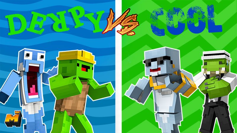 Derpy vs Cool Animals on the Minecraft Marketplace by Mineplex