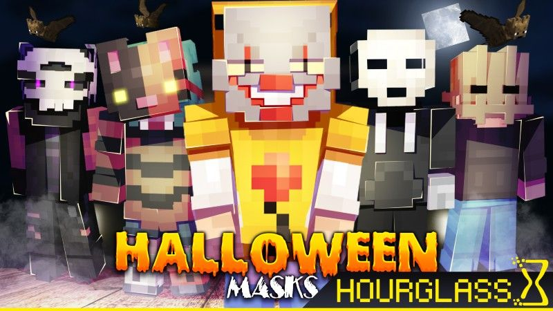 Halloween Masks on the Minecraft Marketplace by Hourglass Studios