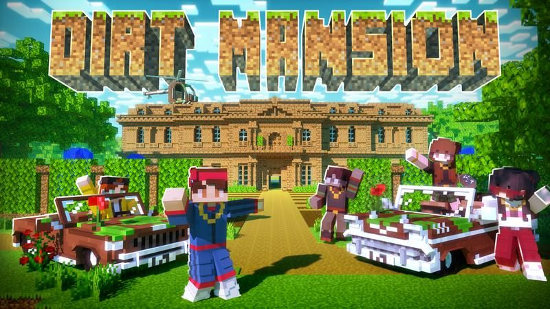 Dirt Mansion on the Minecraft Marketplace by Cubed Creations