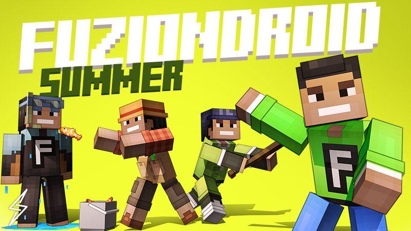 FuzionDroid Summer on the Minecraft Marketplace by Senior Studios