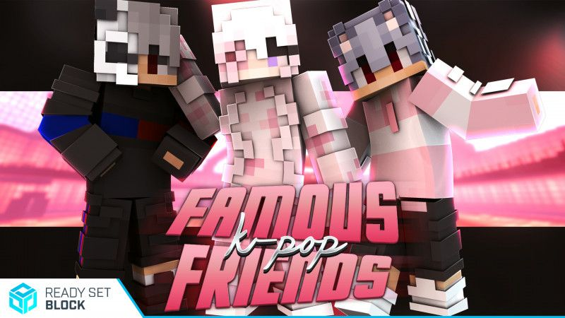Famous KPop Friends on the Minecraft Marketplace by Ready, Set, Block!