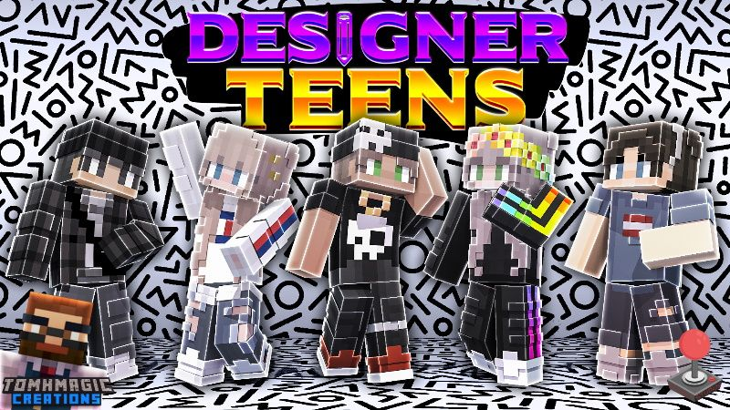 Designer Teens on the Minecraft Marketplace by Tomhmagic Creations
