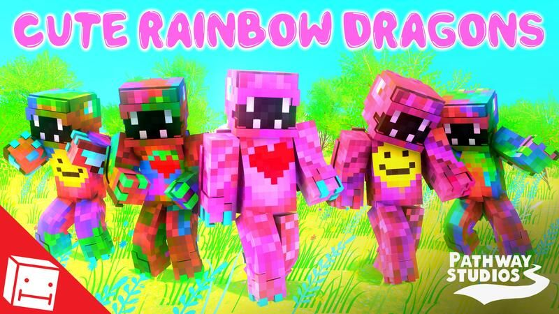 Cute Rainbow Dragons