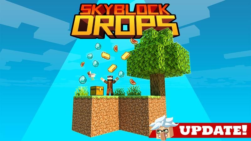 Skyblock Drops on the Minecraft Marketplace by Cubed Creations