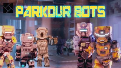 Parkour Bots on the Minecraft Marketplace by Cynosia