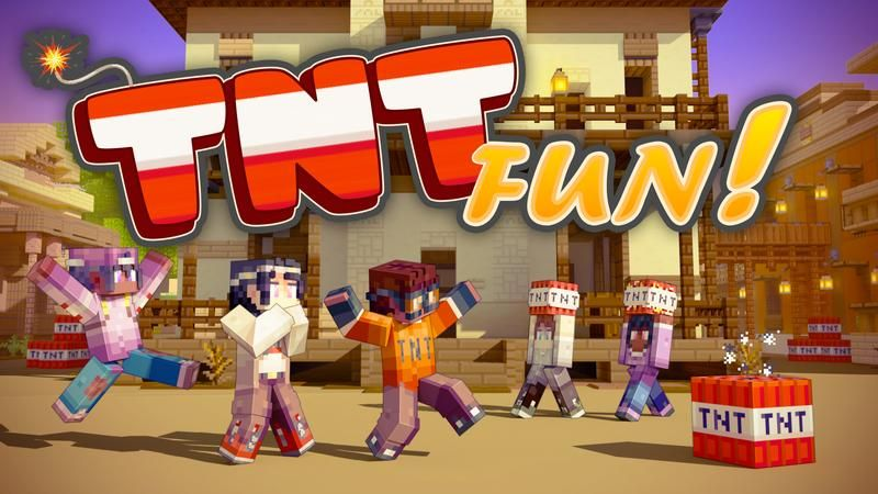 TNT Fun on the Minecraft Marketplace by Cubed Creations