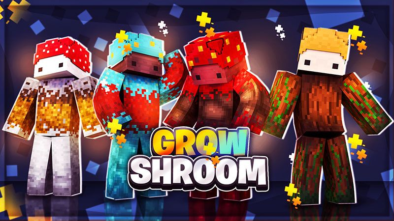 Grow Shroom on the Minecraft Marketplace by The Lucky Petals