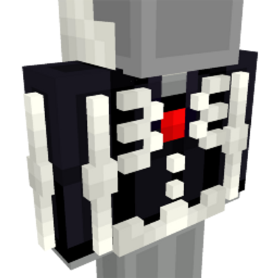 Skeleton Hoodie on the Minecraft Marketplace by The Lucky Petals