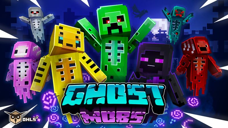 Ghost Mobs on the Minecraft Marketplace by Owls Cubed