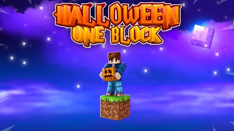Halloween One Block on the Minecraft Marketplace by Fall Studios