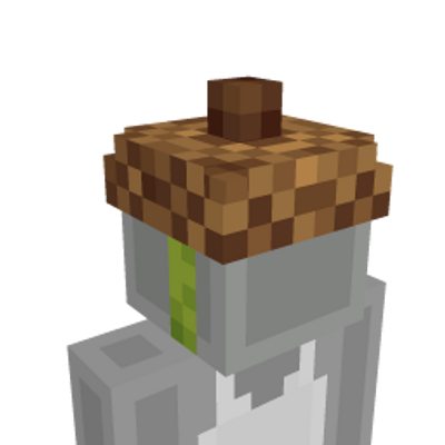 Acorn Hat on the Minecraft Marketplace by Minecraft