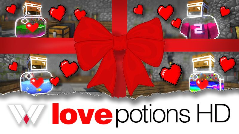 Love Potions HD on the Minecraft Marketplace by Wandering Wizards
