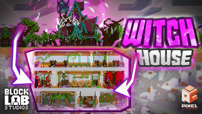 Witch House on the Minecraft Marketplace by BLOCKLAB Studios