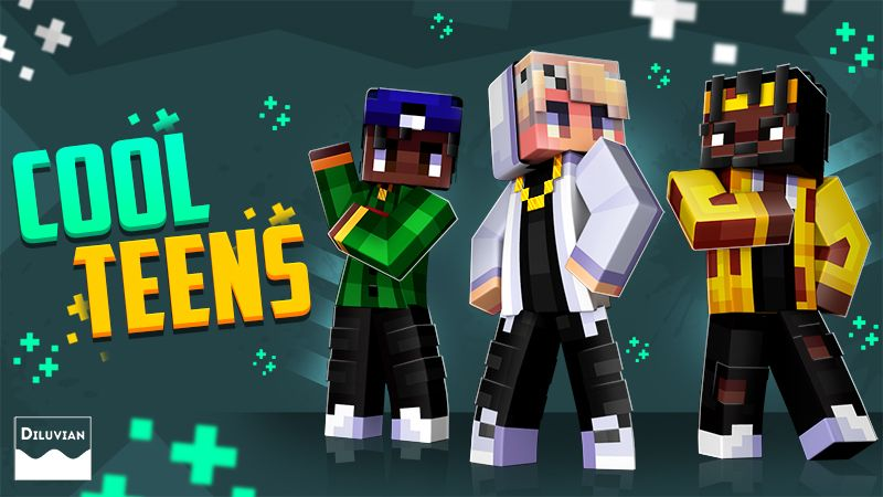 Cool Teens on the Minecraft Marketplace by Diluvian